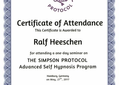 The Simpson Protocol-Advanced Self Hypnosis Program - Ralf